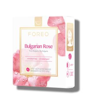 FOREO Bulgarian Rose UFO Moisture-Boosting Face Mask (6 Pack)