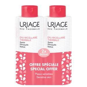 Uriage Thermal Micellar Water for Sensitive Skin 2 x 500ml (Special Offer)