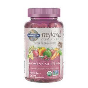 mykind Organics Мультивитаминный комплекс для женщин 40+ - Ягоды - 120 мармеладок