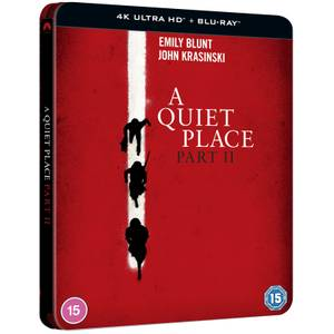 A Quiet Place Part II - Limited Edition 4K Ultra HD Steelbook (Includes Blu-ray)
