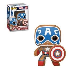 Marvel Gingerbread Captain America Funko Pop! Vinyl