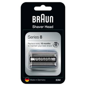 Series 8 83M Electric Shaver Head Replacement, Silver