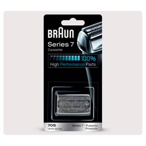 Braun Series 7 70S Electric Shaver Head Replacement, Silver