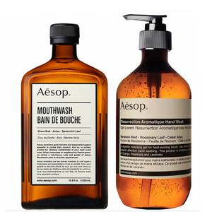 Aesop Hand Wash and Mouthwash Duo (Worth £44.00)