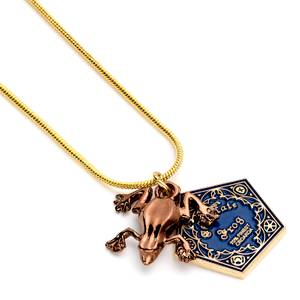 Harry Potter Chocolate Frog Necklace