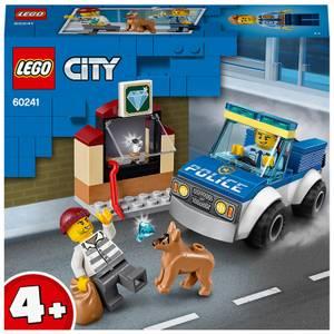 LEGO 4+ City: Police Dog Unit Building Set (60241)