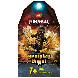 LEGO NINJAGO: Spinjitzu Burst - Cole Spinner Black Ninja (70685)