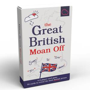 The Great British Moan Off Card Game