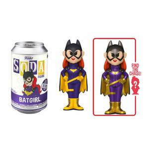 DC Comics Batgirl Vinyl Soda Figure in Collector Can
