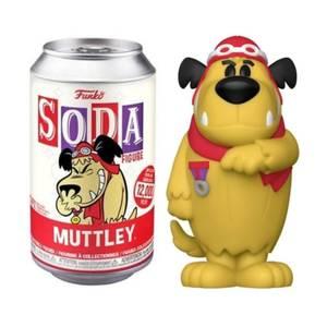 Hanna Barbera Muttley Vinyl Soda Figure in Collector Can