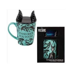Disney Villains Maleficent Mug & Coaster Set