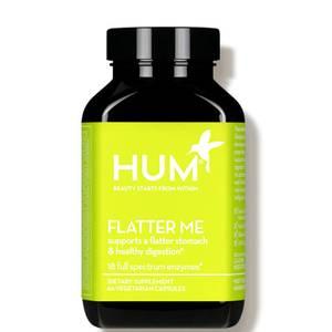 HUM Nutrition Flatter Me Healthy Digestion Supplement (60 Vegan Capsules, 30 Days)