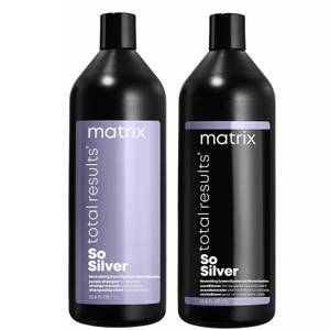 Matrix Total Results Color Obsessed so Silver Shampoo and Conditioner Bundle 2 x 1000ml