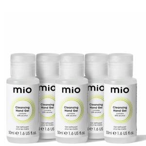 mio Skincare Hand Sanitiser Bundle 5 x 50ml (Worth £12.50)