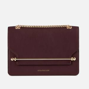 Strathberry Women's East/West Shoulder Bag - Burgundy