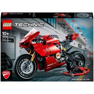 LEGO Technic : Ensemble de Jeux de construction Ducati Panigale V4 R Modèle d'affichage Superbike (42107)