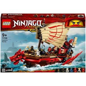 LEGO NINJAGO : Ensemble de Jeux de Construction Le QG des ninjas (71705)