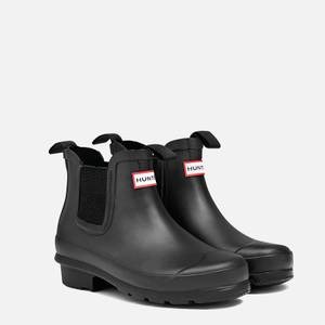 Hunter Original Big Kids' Chelsea Boots - Black