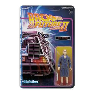 Super7 Back To The Future Part II ReAction Figure - Biff Tannen (Bathrobe)