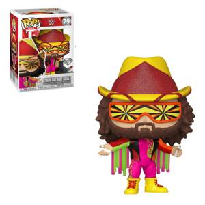 WWE NWSS Macho Man Randy Savage DGLT EXC Pop! Vinyl Figure