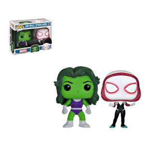 Marvel She-Hulk e Spider-Gwen EXC 2-PackFigura Funko Pop! Vinyls