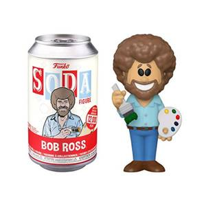 Bob Ross Vinyl Soda in a Collector Can