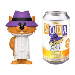 Hanna Barbera Secret Squirrel Vinyl Soda