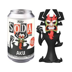 Samurai Jack AKu Vinyl Soda in a Collector Can