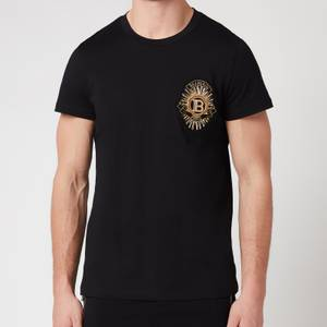 Balmain Men's Badge T-Shirt - Black