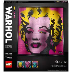 LEGO® Art: Andy Warhol's Marilyn Monroe (31197)