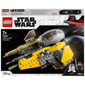 LEGO Star Wars: Anakin's Jedi Interceptor Toy (75281)