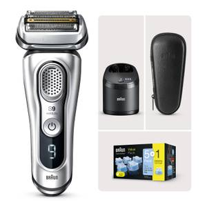 Braun Series 9 Shaver Bundle with SmartCare Center and Refill