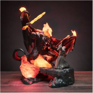 The Lord of the Rings - Balrog vs Gandalf Figurine Light