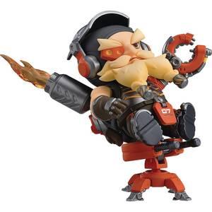 Overwatch Torbjorn Nendoroid Action Figure (Classic Skin Edition)
