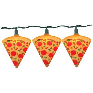 Pizza Slice Decorative Lights Set