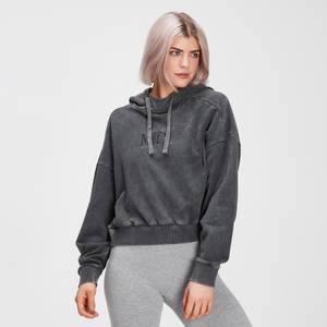 MP Women's Adapt Hoodie- Carbon Acidwash