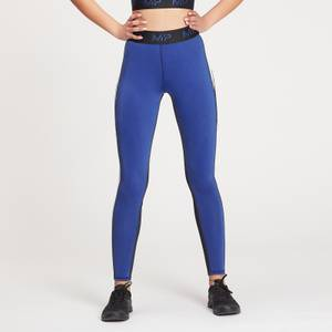 MP Women's Engage Colour Block Leggings - Black / White / Cobalt