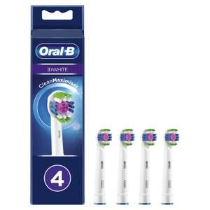 3D White Opzetborstels, Verpakking 4-Pak