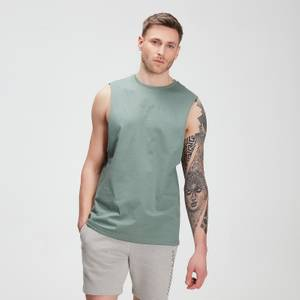 Miesten MP Tonal Graphic Tank -tankkitoppi – Washed Green