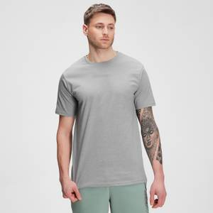 MP Men's Tonal Graphic Short Sleeve T-shirt – Storm Grey Marl