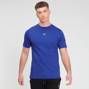 MP Men's Central Graphic Short Sleeve T-Shirt - Cobalt