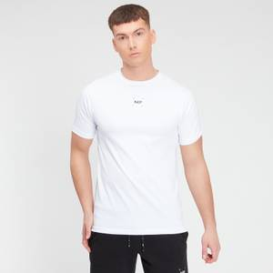 MP Men's Central Graphic Short Sleeve T-Shirt - White