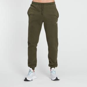 MP Men's Central Graphic Joggers - Dark Olive