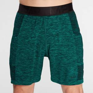 MP Men's Essential Seamless Shorts- Energy Green Marl