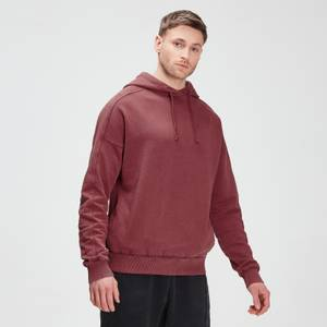 MP Men's Raw Training Hoodie - Claret