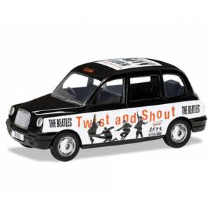 The Beatles London Taxi Twist and Shout Modellset im Maßstab 1:36