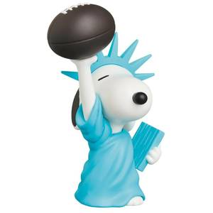 Medicom Peanuts Statue of Liberty Snoopy UDF Mini-Figure