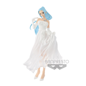 Banpresto One Piece Nefeltari Vivi White Wedding Lady Edge Statue