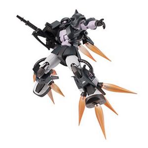 Bandai Tamashii Nations Mobile Suit Gundam MS-06R-1A Zaku II Black Tri Stars Figure