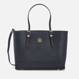 Tommy Hilfiger Women's Honey Medium Tote Bag - Navy